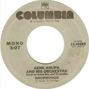 Gene Krupa And His Orchestra - Drumboogie mp3 album