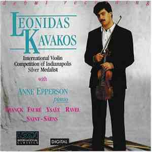 Leonidas Kavakos, Anne Epperson - Debut Recording (International Violin Competition Of Indianapolis Silver Medalist)h1