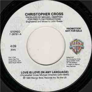 Christopher Cross - Love Is Love (In Any Language) mp3 album