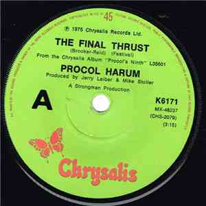 Procol Harum - The Final Thrust mp3 album